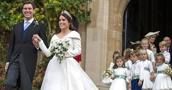 Imbarazzo durante il Royal Wedding, cosa ha fatto la figlia di Robbie Williams