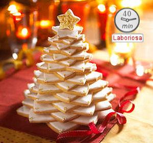 Alberelli Di Natale Biscotti.Idea Regalo Albero Di Natale Fatto Di Biscotti