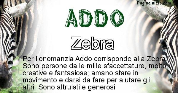 Addo - Animale associato al nome Addo