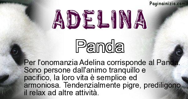 Adelina - Animale associato al nome Adelina