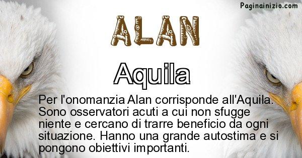 Alan - Animale associato al nome Alan