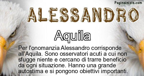 Alessandro - Animale associato al nome Alessandro