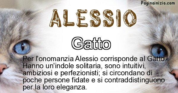 Alessio - Animale associato al nome Alessio