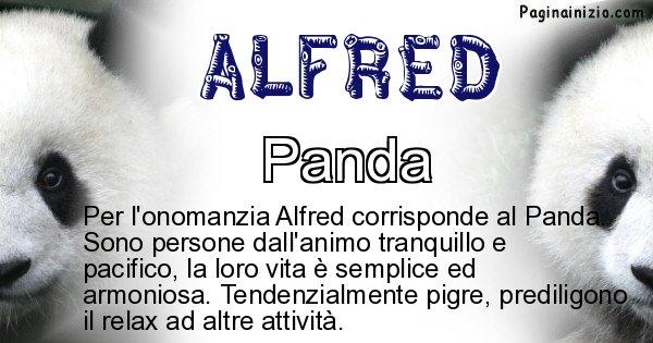 Alfred - Animale associato al nome Alfred