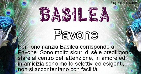 Basilea - Animale associato al nome Basilea