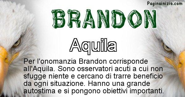 Brandon - Animale associato al nome Brandon