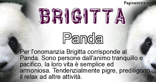 Brigitta - Animale associato al nome Brigitta