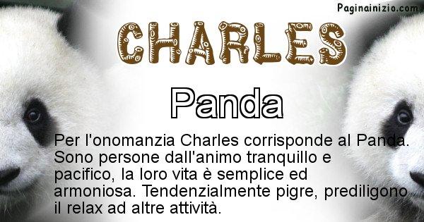 Charles - Animale associato al nome Charles