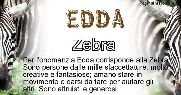 Edda - Animale associato al nome Edda