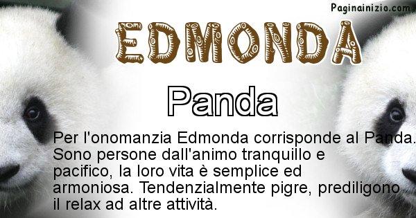 Edmonda - Animale associato al nome Edmonda