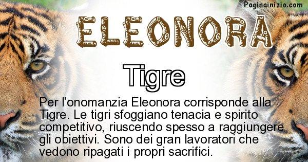 Eleonora - Animale associato al nome Eleonora
