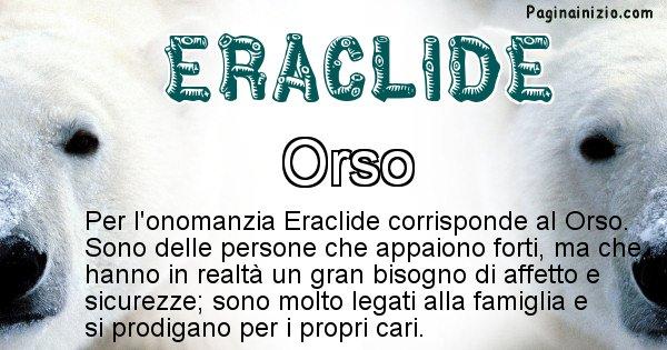 Eraclide - Animale associato al nome Eraclide