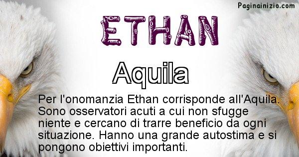 Ethan - Animale associato al nome Ethan