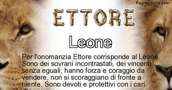 Ettore - Animale associato al nome Ettore