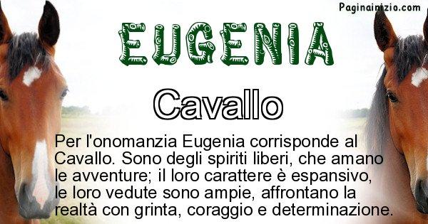 Eugenia - Animale associato al nome Eugenia