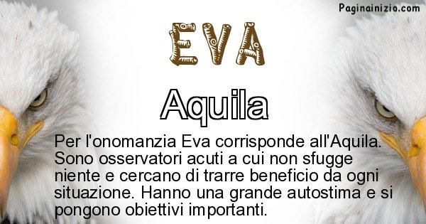 Eva - Animale associato al nome Eva