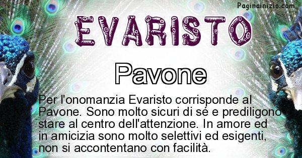 Evaristo - Animale associato al nome Evaristo