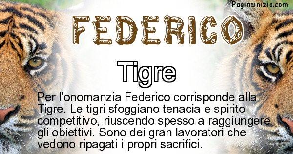 Federico - Animale associato al nome Federico