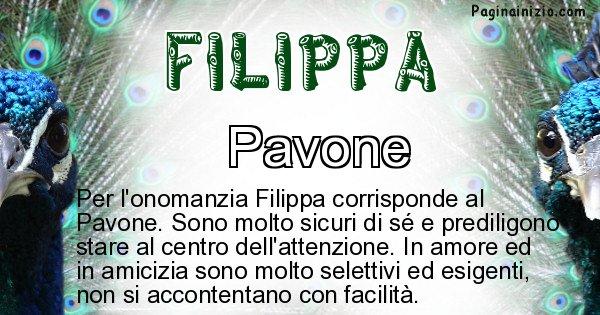 Filippa - Animale associato al nome Filippa