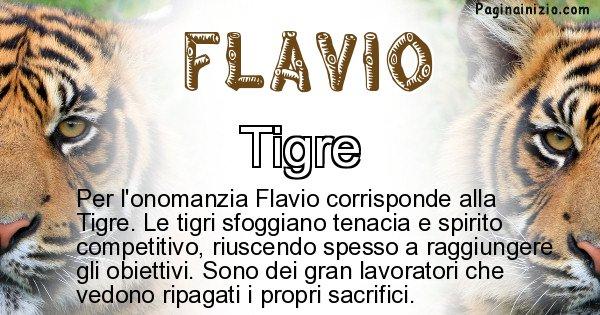 Flavio - Animale associato al nome Flavio