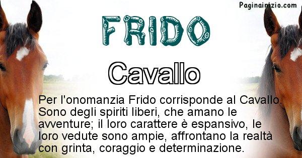 Frido - Animale associato al nome Frido
