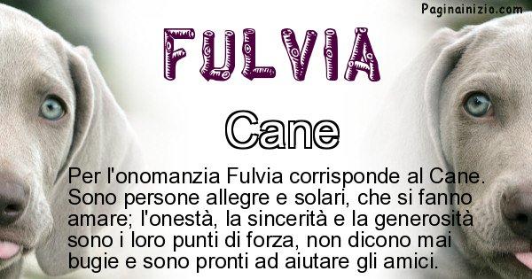 Fulvia - Animale associato al nome Fulvia