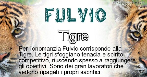 Fulvio - Animale associato al nome Fulvio