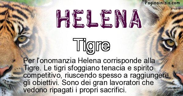 Helena - Animale associato al nome Helena