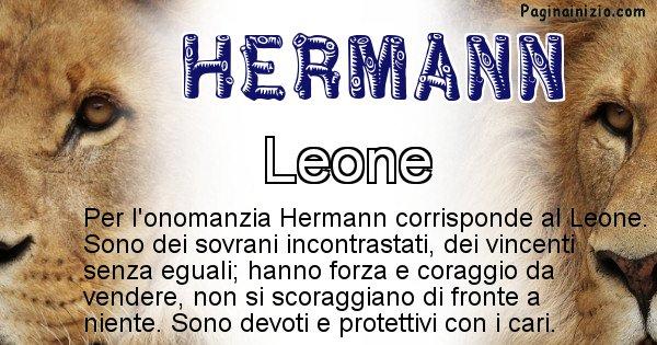Hermann - Animale associato al nome Hermann