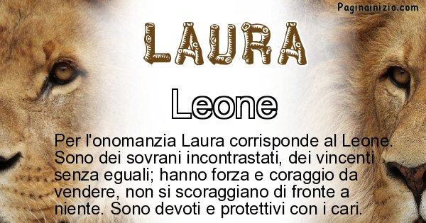 Laura - Animale associato al nome Laura