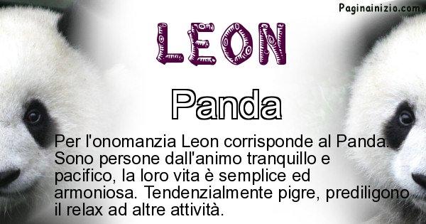 Leon - Animale associato al nome Leon