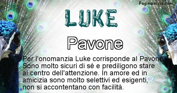 Luke - Animale associato al nome Luke