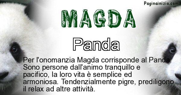 Magda - Animale associato al nome Magda
