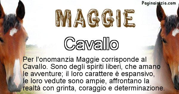 Maggie - Animale associato al nome Maggie