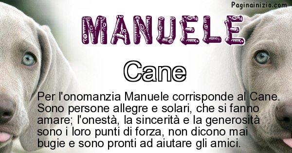 Manuele - Animale associato al nome Manuele