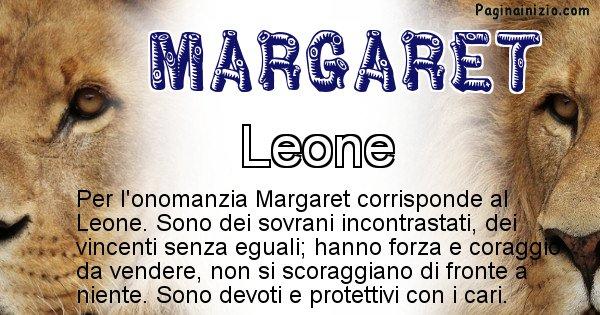 Margaret - Animale associato al nome Margaret