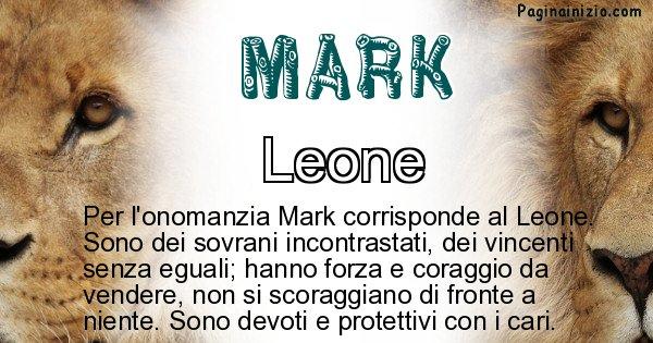 Mark - Animale associato al nome Mark