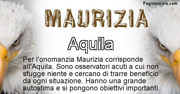 Maurizia - Animale associato al nome Maurizia