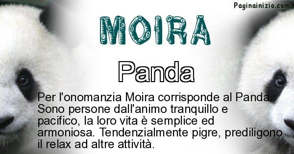 Moira - Animale associato al nome Moira