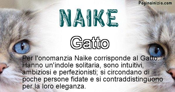 Naike - Animale associato al nome Naike