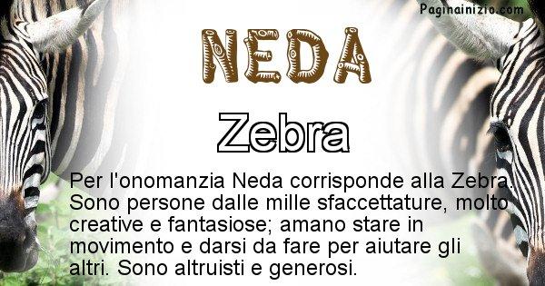 Neda - Animale associato al nome Neda