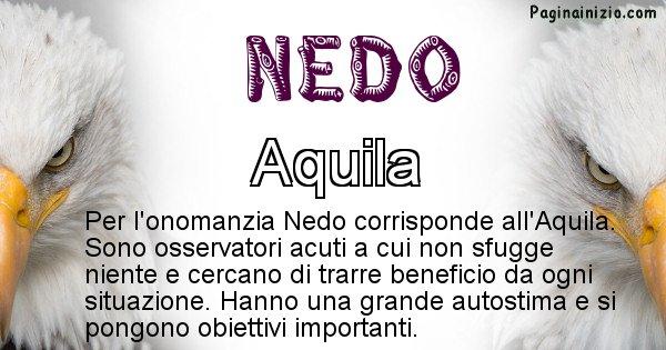 Nedo - Animale associato al nome Nedo