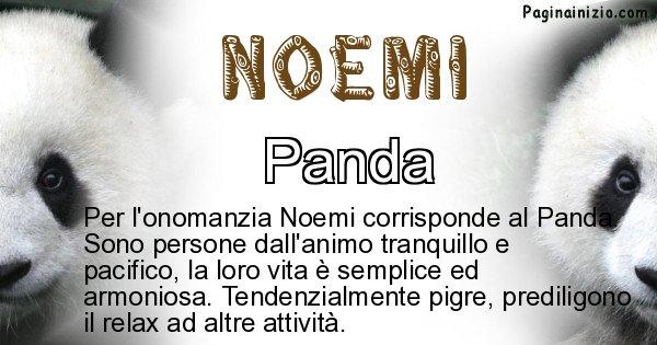 Noemi - Animale associato al nome Noemi