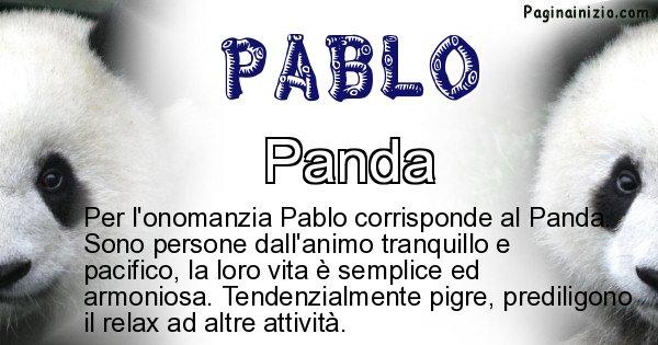 Pablo - Animale associato al nome Pablo
