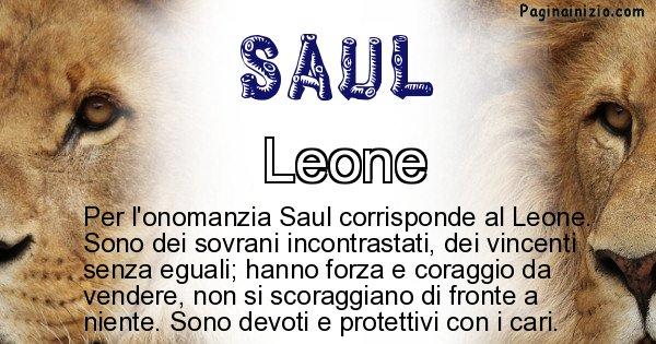 Saul - Animale associato al nome Saul