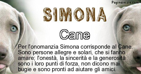 Simona - Animale associato al nome Simona