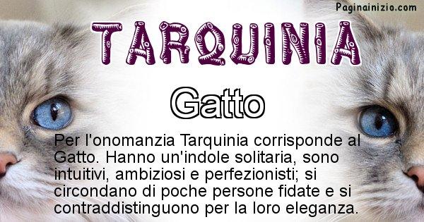 Tarquinia - Animale associato al nome Tarquinia