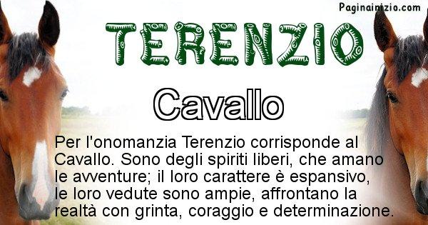 Terenzio - Animale associato al nome Terenzio