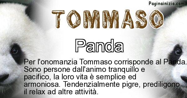Tommaso - Animale associato al nome Tommaso