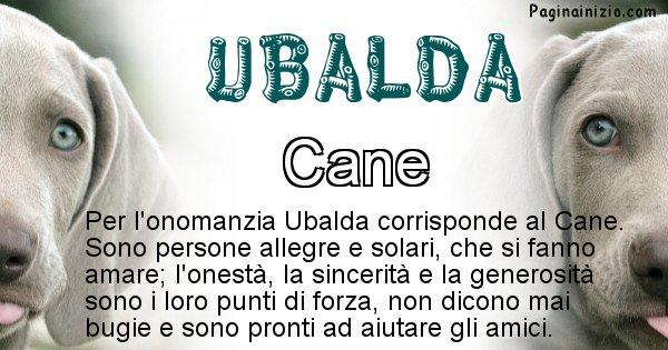 Ubalda - Animale associato al nome Ubalda